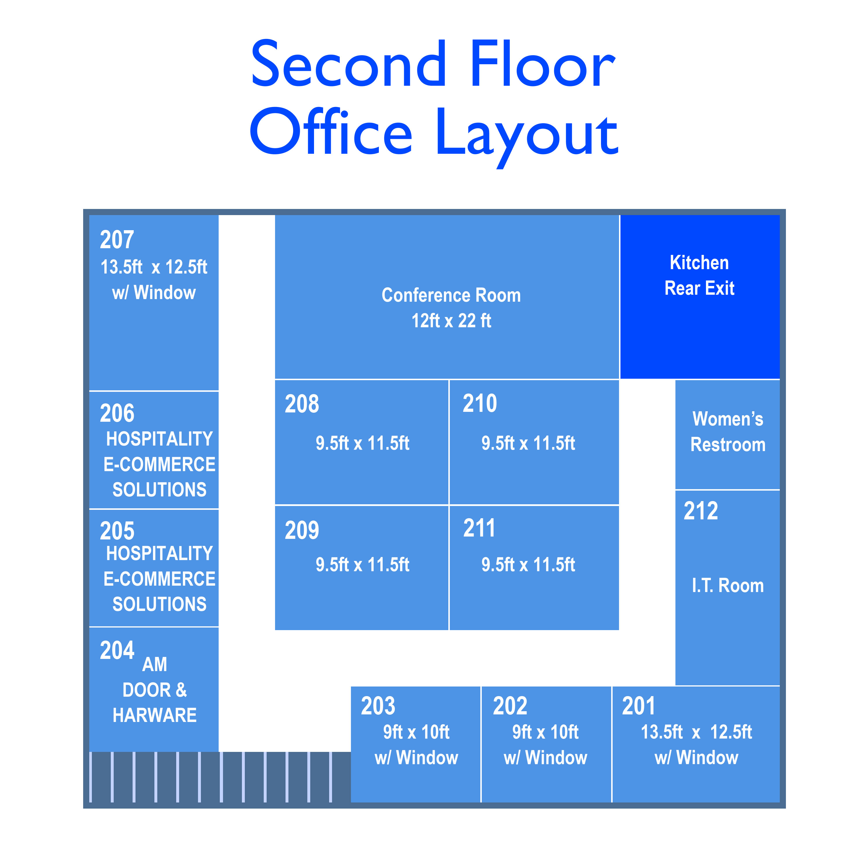 Office layout forsyth business center forsyth business for Small business office layout